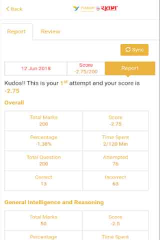 Yuwam App Report